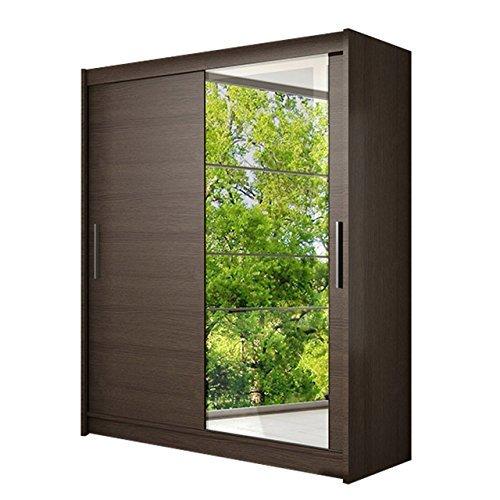 schwebet renschrank westa vi kleiderschrank mit spiegel modernes schlafzimmerschrank. Black Bedroom Furniture Sets. Home Design Ideas