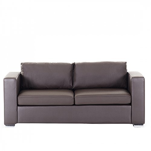 sofa couch braun ledersofa 3 sitzer helsinki 0 m bel24 m bel g nstig. Black Bedroom Furniture Sets. Home Design Ideas