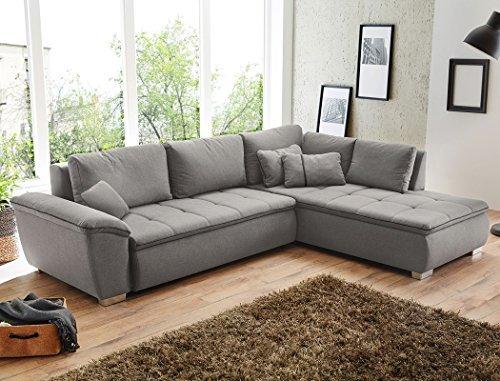 Wohnlandschaft-Corvin-280x210-cm-grau-Funktionssofa-Eckcouch-Polsterecke-Bettkasten-Couch-Sofa-Wohnzimmer-0