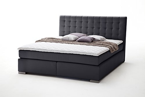 sette notti boxspringbett 200x200 wei boxspringbett. Black Bedroom Furniture Sets. Home Design Ideas