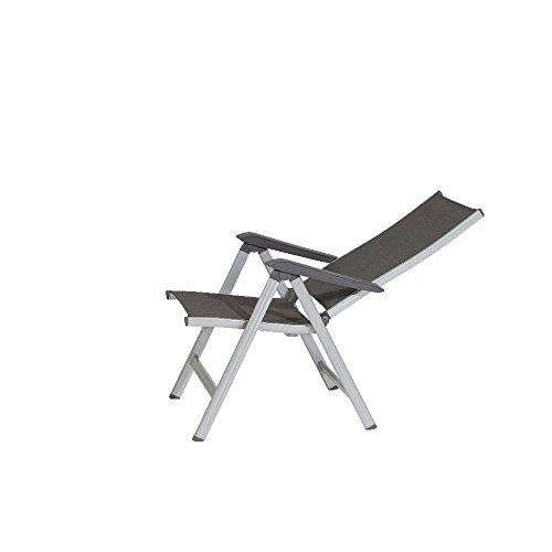 kettler basic plus gartenstuhl hochlehner verstellbar. Black Bedroom Furniture Sets. Home Design Ideas