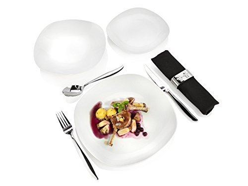 s nger tafelservice 39 bilgola 39 aus porzellan 18 teilig tellerset f r 6 personen modernes. Black Bedroom Furniture Sets. Home Design Ideas
