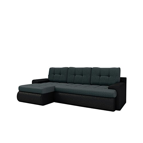 elegante ecksofa kos sale ausverkauf eckcouch mit schlaffunktion und bettkasten. Black Bedroom Furniture Sets. Home Design Ideas