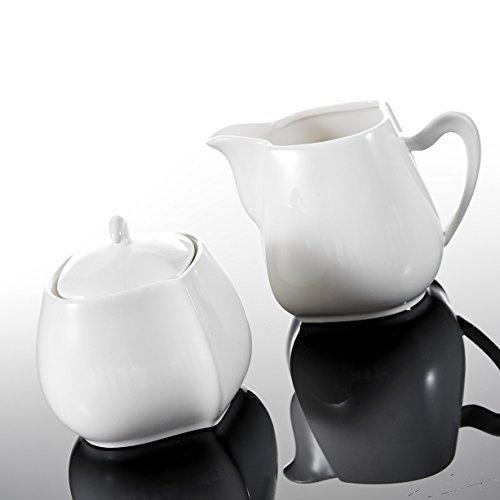 Malacasa-Serie-Elvira-3-teilig-Porzellan-Milch-und-Zucker-Set-mit-Deckel-Milchknnchen-Zuckerdose-Milch-Zuckerbehlter-Kchenhelfer-0