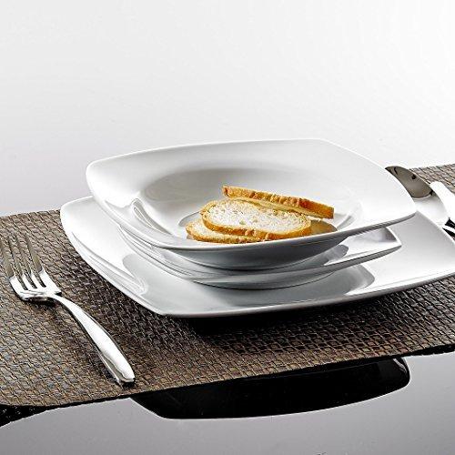 Malacasa-Serie-JULIA-18-teilig-Set-Porzellan-Geschirrset-Tafelservice-mit-je-6-Essteller-6-Dessertteller-6-Suppenteller-fr-6-Personen-0