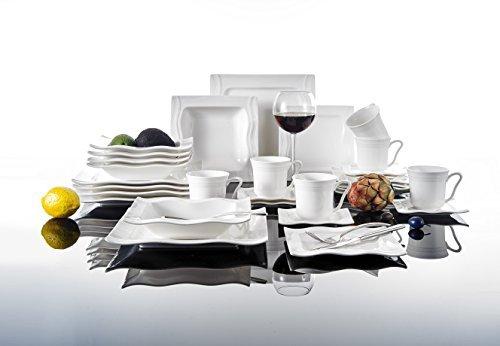 Malacasa-Serie-Mario-30-teilig-Geschirrset-Kombiservice-aus-Weien-Porzellan-Keramik-im-Klassischen-Design-mit-je-6-Kaffeetassen-6-Untertassen-6-Dessertteller-6-Tiefteller-und-6-Flachteller-0