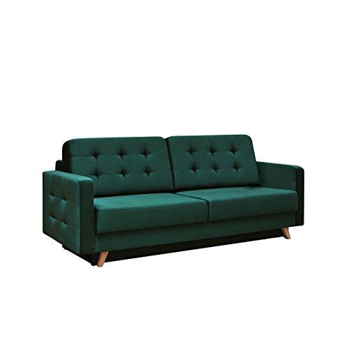 modernes sofa vegas mit schlaffunktion und bettkasten farbauswahl design couch lounge. Black Bedroom Furniture Sets. Home Design Ideas