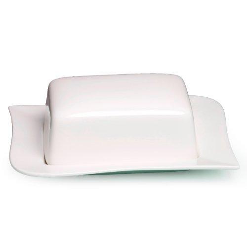 Ritzenhoff & Breker Melodie Butterdose, hochwertiges Porzellan, spülmaschinenfest, 580259