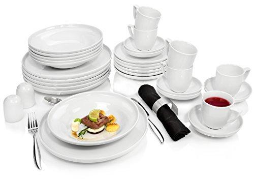 rosenthal kombiservice bianchi aus porzellan f r 6 personen 30 teilig tafelservice essservice. Black Bedroom Furniture Sets. Home Design Ideas