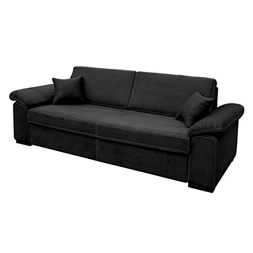 schlafsofa dora sofa mit bettkasten und schlaffunktion freistehendes bettsofa dauerschl fer. Black Bedroom Furniture Sets. Home Design Ideas