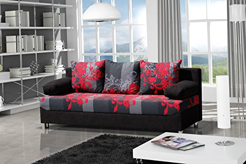 schlafsofa dover sving mit dekorstoff sofa mit bettkasten und schlaffunktion bettsofa. Black Bedroom Furniture Sets. Home Design Ideas