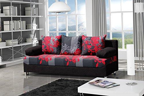 schlafsofa dover sving mit dekorstoff sofa mit bettkasten und schlaffunktion bettsofa. Black Bedroom Furniture Sets. Home Design Ideas