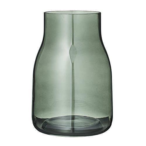Bloomingville Vase Blumenvase Glas grün