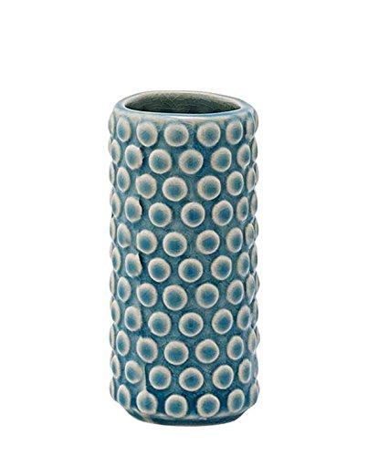 Bloomingville-Vase-Bubble-Structure-sky-blue-0