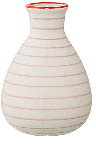 Bloomingville-Vase-Susie-65-x-11-cm-rosa-gestreift-0