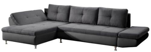 Cavadore-457-Polsterecke-Coutre-Longchair-2er-mit-einseitiger-Armteilfunktion-325-x-89-x-186-cm-Toscana-graphite-Bison-schwarz-0