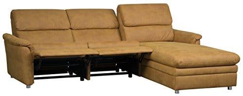 Cavadore-526-Polsterecke-Chalsay-3-Sitzer-mit-Relaxliner-und-Kopfteilverstellung-links-Longchair-rechts-252-x-94-123-x-177-Cruze-mustard-520-0