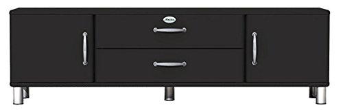 Lowboard / TV-Bank Malibu 5156 in schwarz von Tenzo