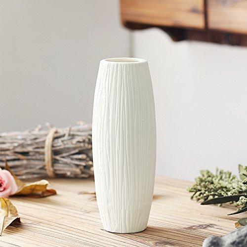 Maivas Moderne Glas einfache Vase Amerikanische einfache Crystal transparent Flasche weißen großen, großen 18 * 18 * 40 cm.