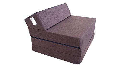 natalia spzoo 0811021 klappmatratze schlafsofa schaumstoff 1021 200 x 70 x 10 cm dunkelbraun. Black Bedroom Furniture Sets. Home Design Ideas