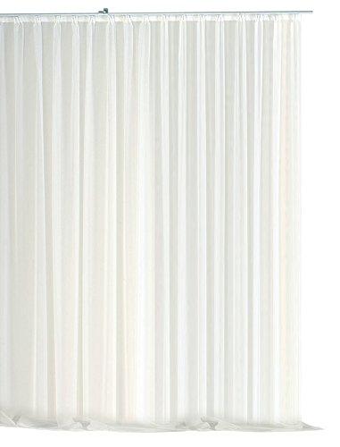 Voile-Dekoschal-Gardine-Emotion-wei-500x245-cm-Organza-Vorhang-Kruselband-klassisch-transparent-mit-beschwertem-Abschluband-Langstore-1309-500x245-0