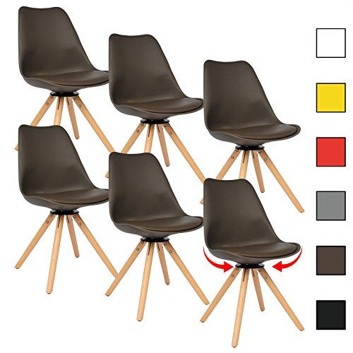 m bel24 m bel g nstig woltu bh57br 6 6 x esszimmersthle. Black Bedroom Furniture Sets. Home Design Ideas