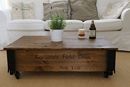 uncle joe s couchtisch roosevelt truhentisch truhe im vintage shabby chic style aus massiv. Black Bedroom Furniture Sets. Home Design Ideas
