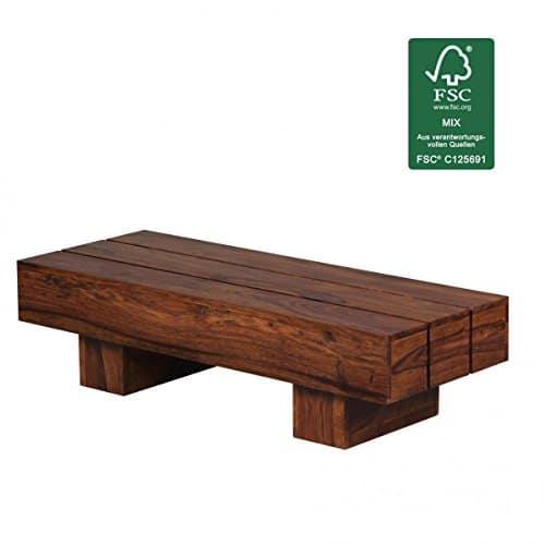 m bel24 m bel g nstig finebuy couchtisch massiv holz sheesham 120 cm breit wohnzimmer tisch. Black Bedroom Furniture Sets. Home Design Ideas