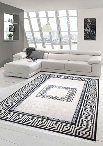 teppich traum designerteppich moderner teppich wohnzimmerteppich mit bord re in printtechnik in. Black Bedroom Furniture Sets. Home Design Ideas
