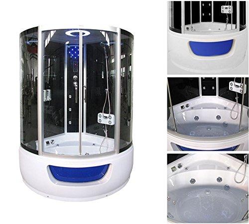 home deluxe exclusio duschtempel inkl whirlpool und dampfsauna m bel24. Black Bedroom Furniture Sets. Home Design Ideas