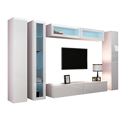 m bel24 m bel g nstig wohnwand vigo vi anbauwand modernes wohnzimmer set mediawand. Black Bedroom Furniture Sets. Home Design Ideas