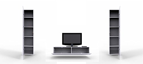 wohnwand vigo iv anbauwand modernes wohnzimmer set mediawand h ngeschrank vitrine tv schrank. Black Bedroom Furniture Sets. Home Design Ideas