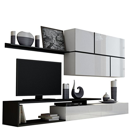 ausverkauf wohnwand goya tv lowboard h ngeschrank. Black Bedroom Furniture Sets. Home Design Ideas