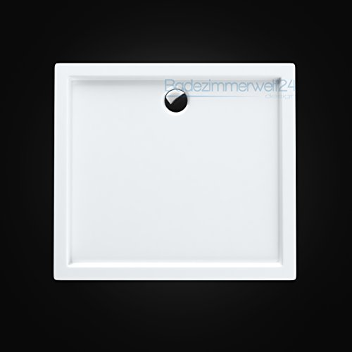 AQUABAD® Duschwanne/Duschtasse/Duschbecken Rechteck 90x120x14cm