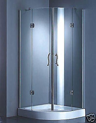Duschkabine Dusche Duschabtrennung 80x80 ohne Duschtasse 1532