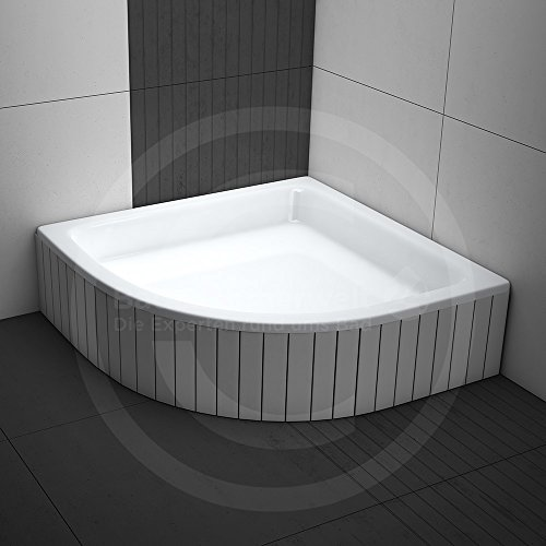 duschwanne duschbecken komplettset m03 aquabad comfort magno ma e 90x90cm r55 viertelkreis. Black Bedroom Furniture Sets. Home Design Ideas