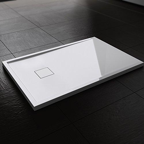 Duschwanne / Duschtasse | auch für bodengleiche / ebenerdige Dusche | 80x120x4