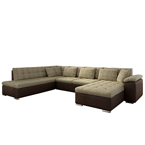 mirjan24 eckcouch ecksofa niko bis design sofa couch mit schlaffunktion und bettkasten u sofa. Black Bedroom Furniture Sets. Home Design Ideas