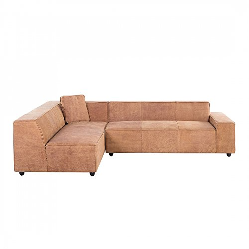 ecksofa leder vintage cognac rechtsseitig adam m bel24 m bel g nstig. Black Bedroom Furniture Sets. Home Design Ideas