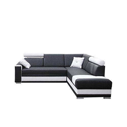 ecksofa roma farbauswahl ecksofa f r wohnzimmer g stezimmer wohnlandschaft design l form. Black Bedroom Furniture Sets. Home Design Ideas