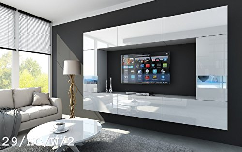 Future 29 moderne wohnwand exklusive mediam bel tv for Exklusive wohnwand