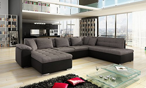 outlet eckcouch ecksofa niko sale design sofa couch mit schlaffunktion u sofa gro e. Black Bedroom Furniture Sets. Home Design Ideas