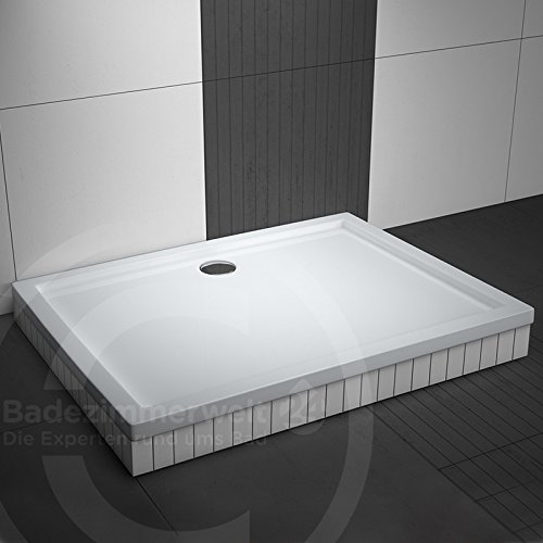 rechteck duschwanne duschtasse aquabad komplettset comfort basic 70x90cm inkl. Black Bedroom Furniture Sets. Home Design Ideas