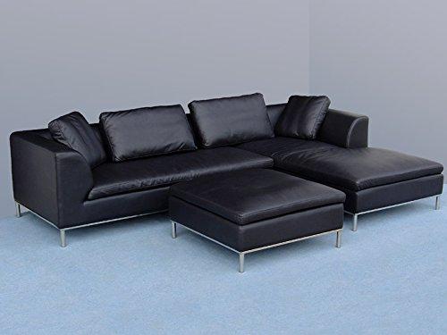 Design lederm bel ledersofas voll leder ecksofa sofa for Italienische ledersofas