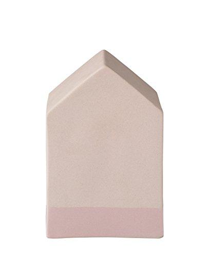 Bloomingville Deko Haus, blush 8x8x12cm