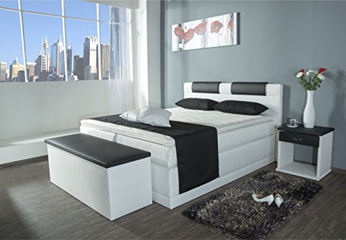 boxspringbett piano 7 zonen taschenfederkern lieferbar. Black Bedroom Furniture Sets. Home Design Ideas