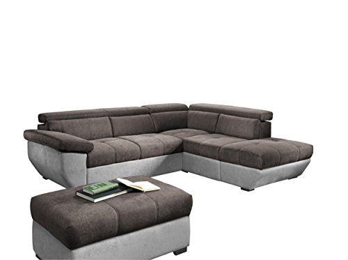 cotta c344666 speedway polsterecke ecksofa recamiere rechts m bel24. Black Bedroom Furniture Sets. Home Design Ideas