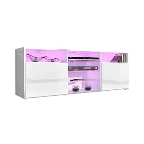 TV Board Lowboard Granada V1 V2 Weiß