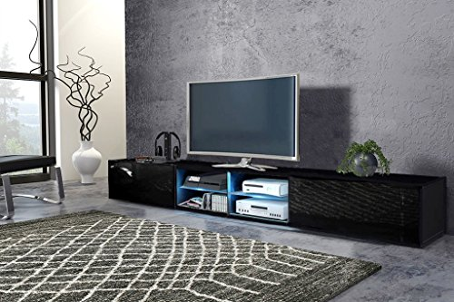 Tv Schrank HIT 2 DOUBLE Tv Lowboard Unterschrank !!! Mit LED !!!