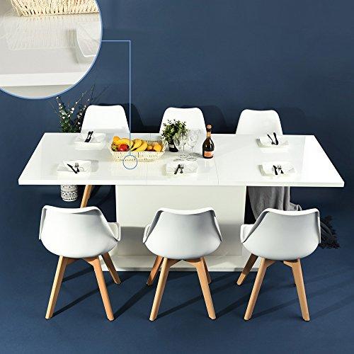 Esszimmerstuhle mobel24 mobel gunstig for Küchenstuhl wei